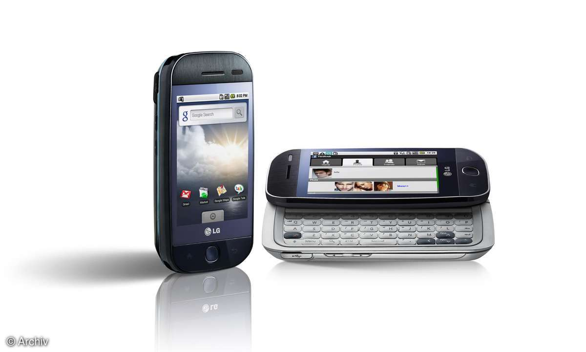 Android-Smartphone LG GW620