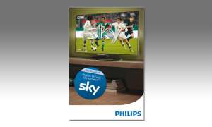 Philips-TV mit Sky-Abo